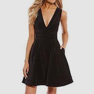 NWT Lauren James Morgan Velvet Dress In Large